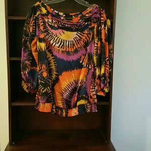TRIBAL size M multi-colored blouse